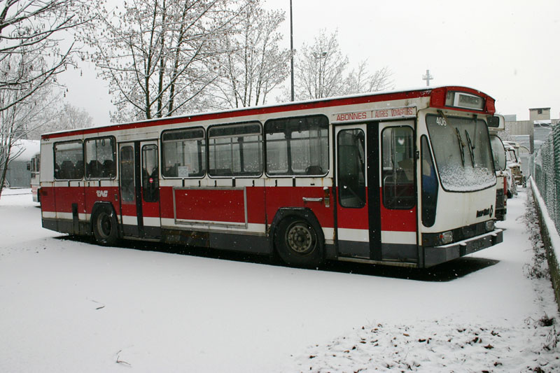 PR100-B n° 406 sous la neige