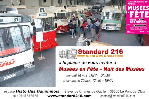 Invitation Musées en Fête / Nuit des Musées 2012