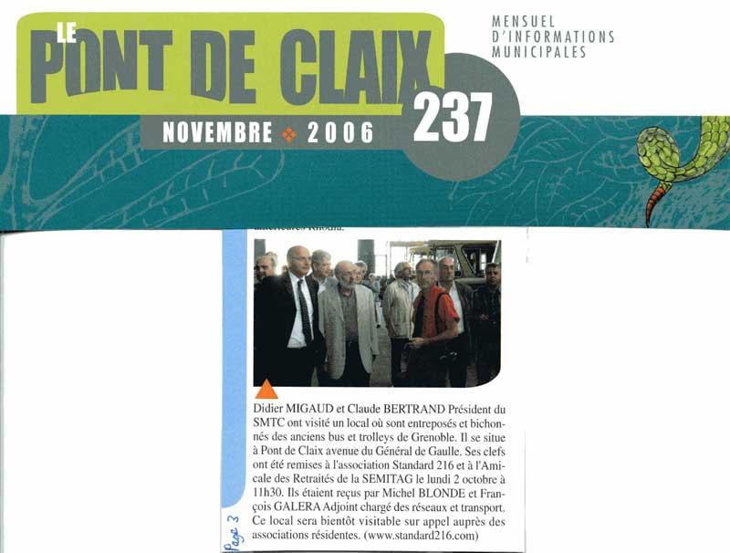 Journal de Pont-de-Claix