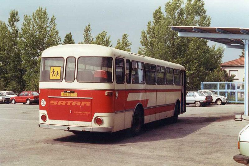 Berliet PHN-10 de la SATAR, en mai 1990