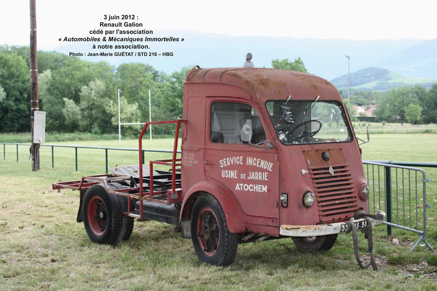 Renault Galion offert par des membres de l'AMI