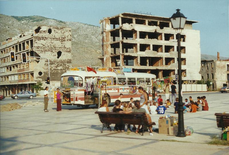 S 53-M à Mostar, Bosnie Herzégovine