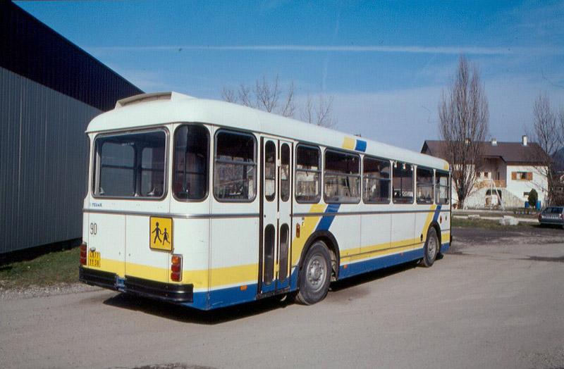 le SC 10 en service à Villard-Bonnot, en février 1994