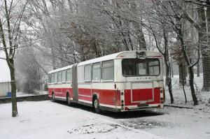 SG 220 n°104 sous la neige