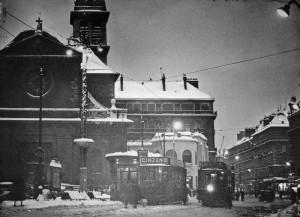 rue Félix Poulat, décembre 1935