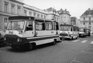 les 1er véhicules PMR