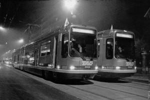 inauguration ligne B, 1990