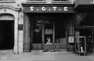 office SGTE, ouverte jusqu'en 1974 place Grenette