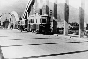 pont sur le Drac, 1950