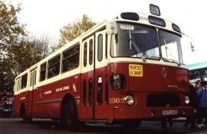 Autobus Berliet PH-100 TCL (Lyon) n° 2502