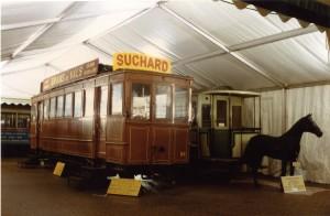 Tramway électrique H-2 de Saint-Étienne et tramway hippomobile n° 2 de Neuchâtel