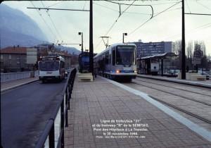 Ligne de tram ''B''  = en service
