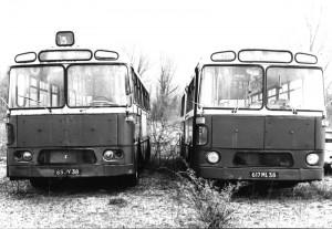 Berliet PH-80 n° 307 et PH-8-100 n° 320