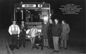 ligne 4 : dernier service en trolleybus