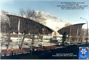 PCM-R devant le Stade de Glace à Grenoble