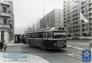 SC 10-U sur le Bd J. Vallier à Grenoble