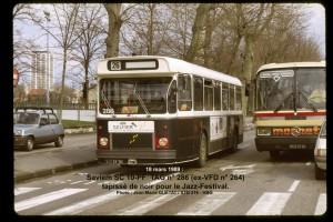 SC 10-PF  n° 286 tapissé de noir