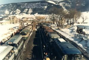 Trans Olympe aux JO de Grenoble = Gare d'Autrans