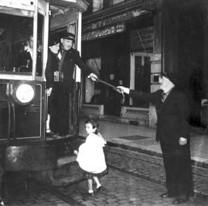 dernier Tramway SGTE Le 31 août 1952 au soir