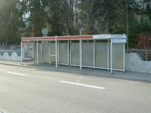Modèle installé : arrêt Lycée du Grésivaudan