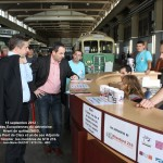 le Maire de Pont-de-Claix, Christophe Ferrari, et son adjoint Sam Toscano félicitent les membres de Standard 216