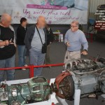 Bernard présente les moteurs et boites de vitesse