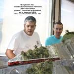 jean-Yves et Guigui pilotent trois convois sur le réseau du SGLM