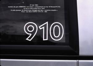 R-312 n°910, en creux