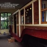 Musée des TC de Hanovre :  premier métro accessible PMR au monde, vers le début des années 1900