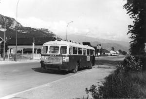 Chausson APH-521 au terminus Place des Résistants, le 8/6/1968
