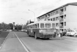 et  à l'autre bout de la ligne 9, vers le terminus Boileau, à La tronche, le 8/6/1967 © Jean-Marie Guétat