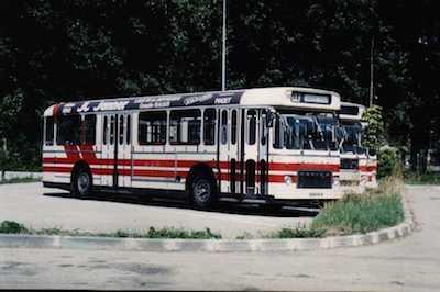 SC 10 n°216 VFD, repeint en rouge et blanc