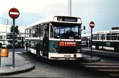 SC 10 n°216 VFD, encore aux couleurs vert et blanc de la régie