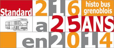 Standard 216 Histo Bus Grenoblois a 25 ans en 2014