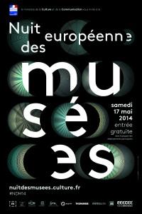 Affiche Nuit des Musées 2014