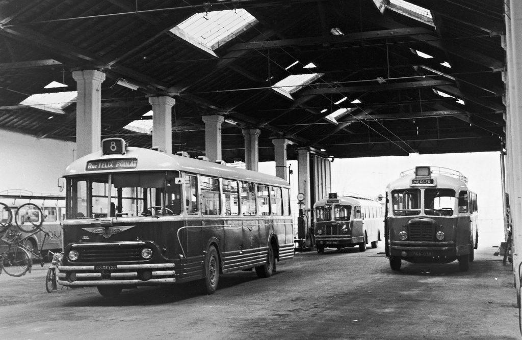 Plus d'un siècle de transports