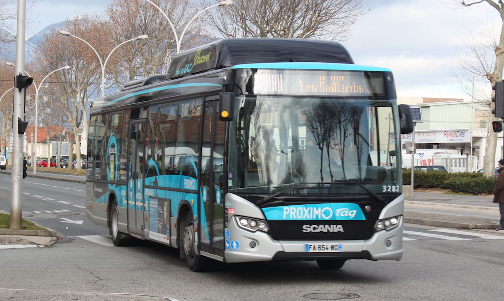 Scania Citywide LE CNG