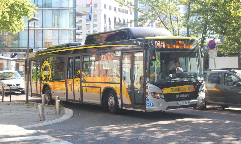 Scania Citywide LF CNG