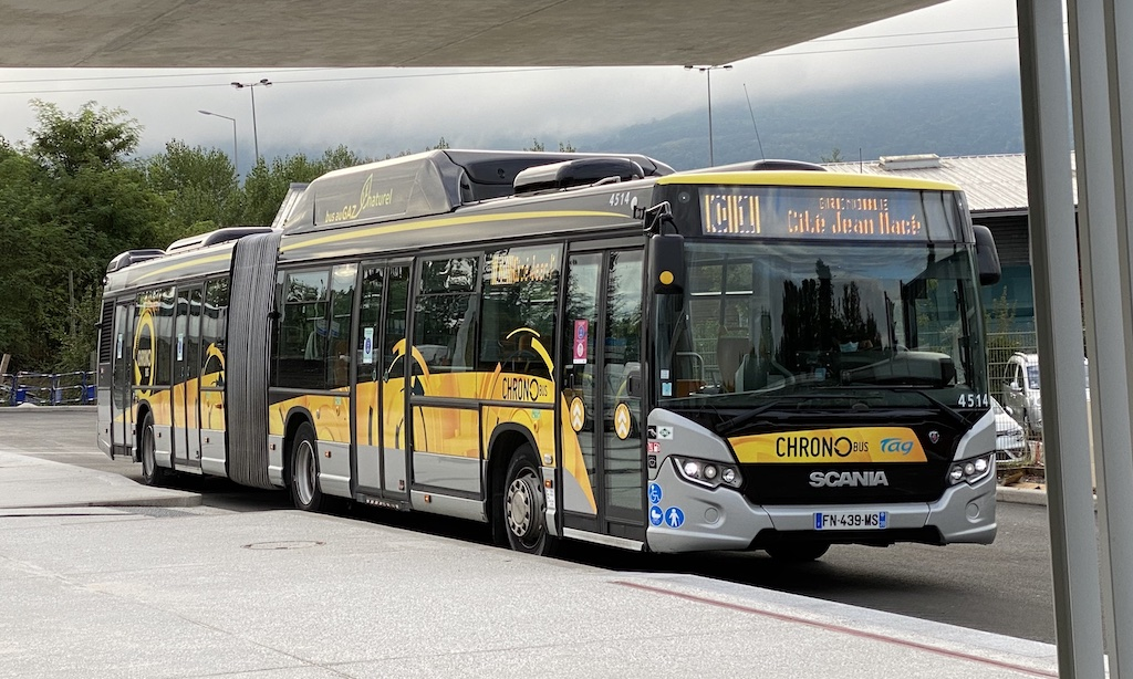 Scania Citywide LFA CNG