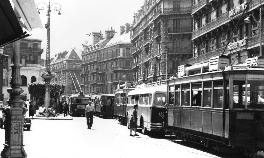Historique résumé des Transports en commun Grenoblois