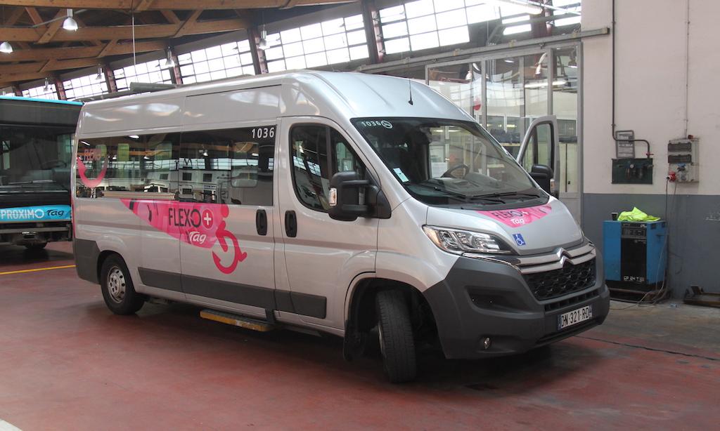Minibus PMR Citroën