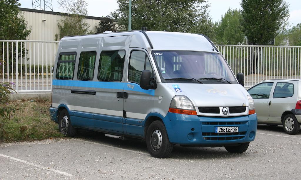 Minibus PMR Renault