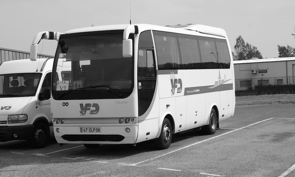 Minibus et midibus VFD Interurbains